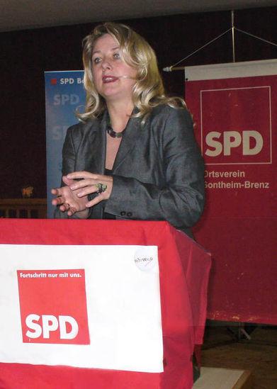 Claudia Sünder in Sontheim