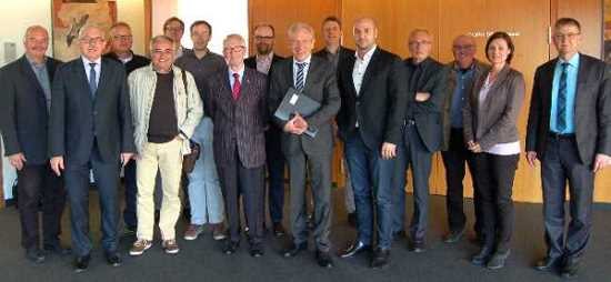 Die SPD-Regionalverbandsfraktion bei der IHK