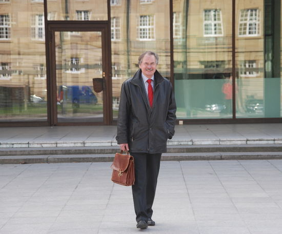 Wolfgang Staiger verlässt zum letzten Mal den Landtag.